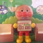 日本四國JR車廂中的麵包超人