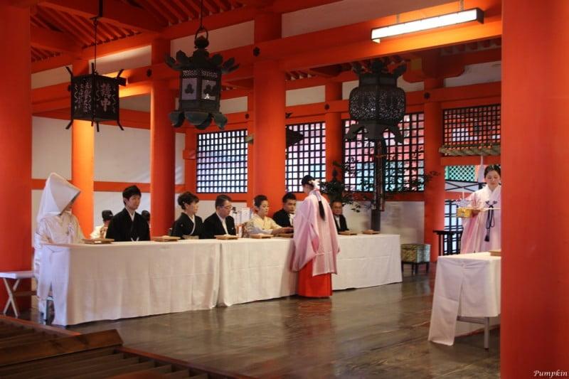 日本宮島嚴島神社 - 婚禮舉行中
