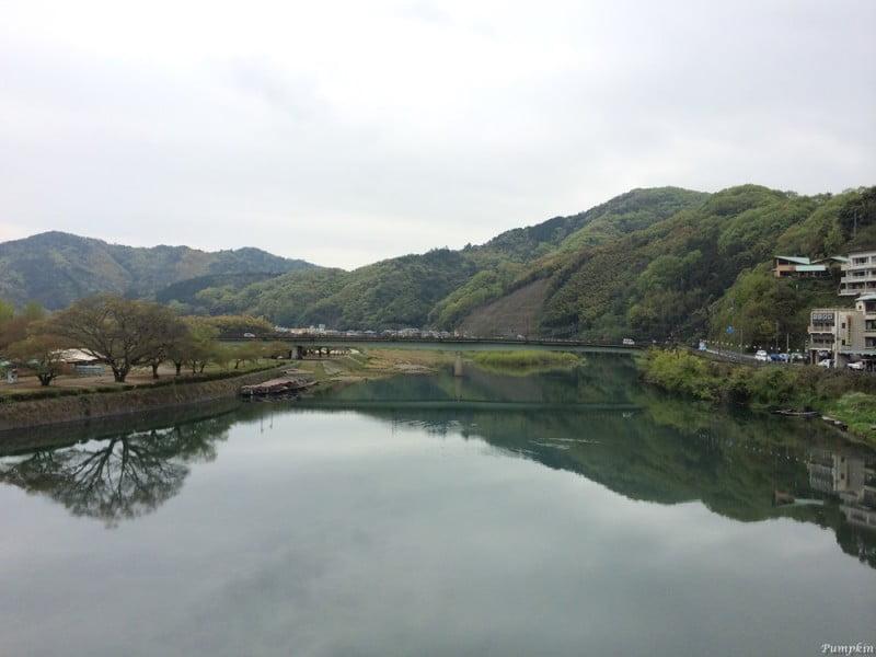 平靜的錦帶橋