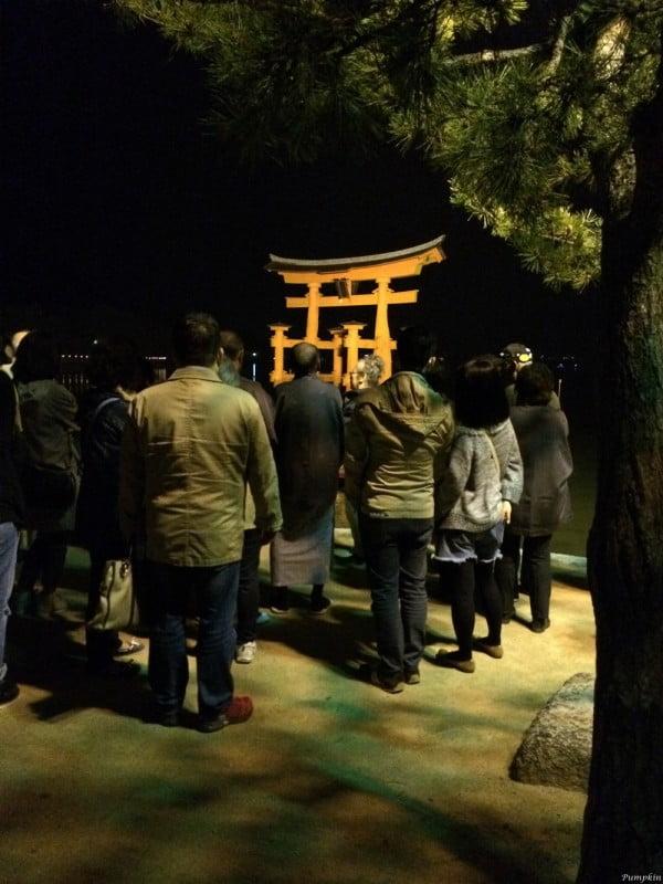 日本宮島 - 晚上導賞團
