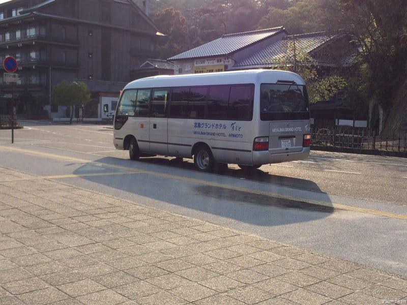 宮島酒店接駁巴士