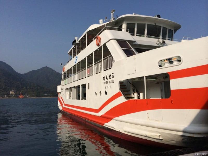 往宮島交通 - JR西日本渡輪