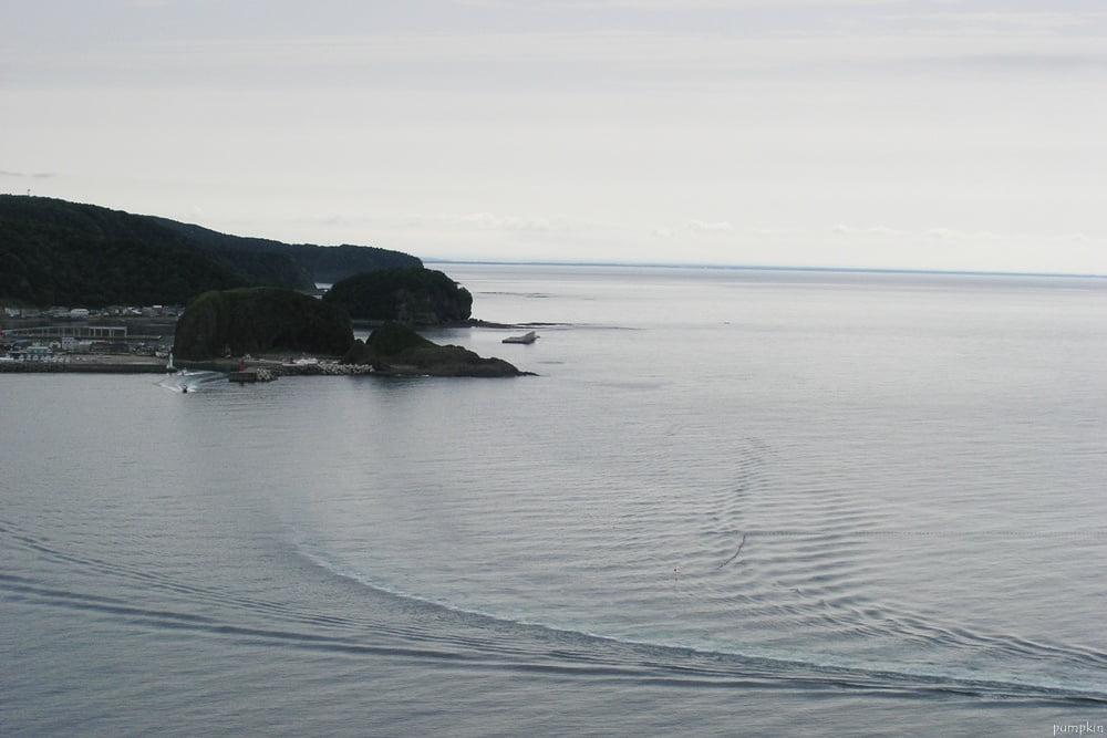 知床半島的海峽