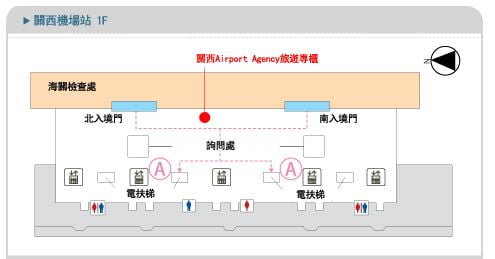 kansai airport travel agency