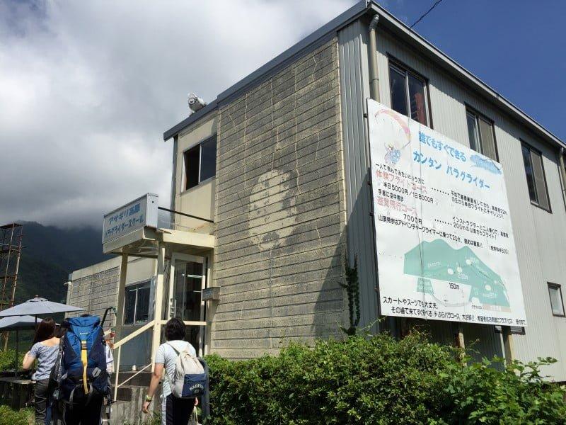 朝霧高原滑翔傘學校