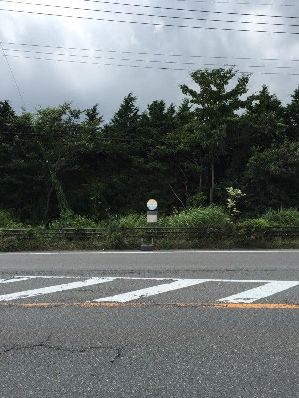 往河口湖的富士巴士站