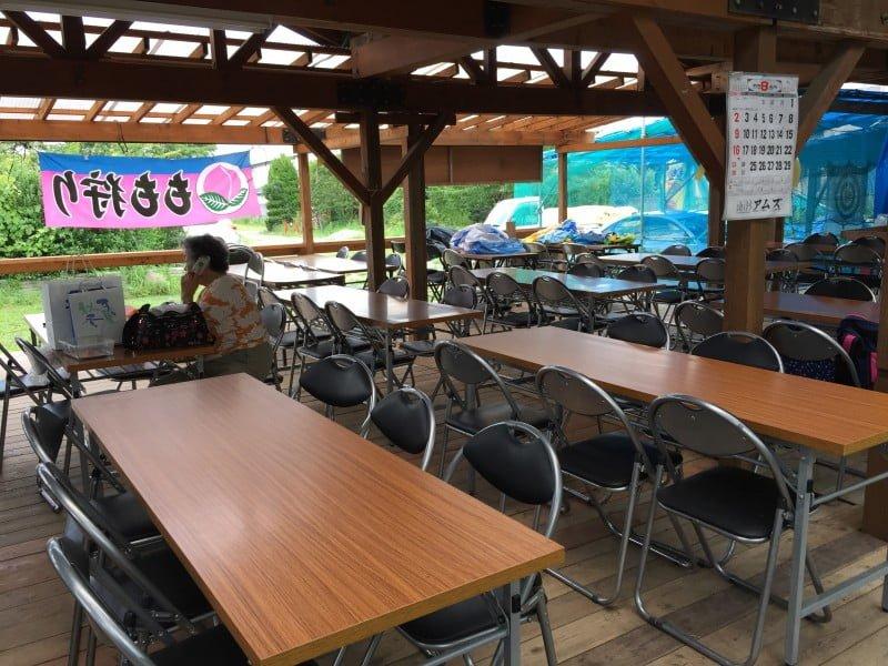 くぬぎ観光農園的茶座