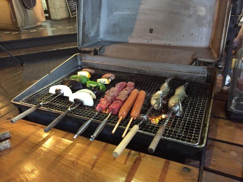 清里燒烤餐