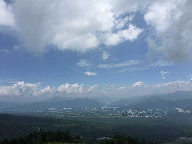 清里Sunmeadows山頂