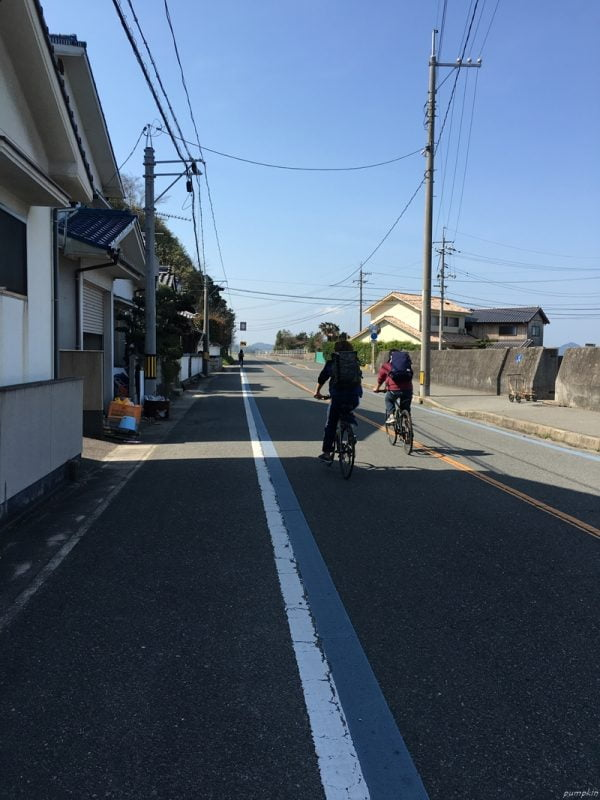 瀨戶內島波海道單車線