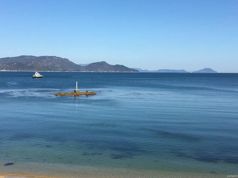 直島上美景