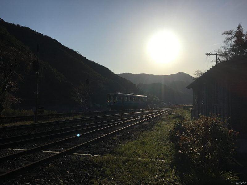 清晨的江川崎