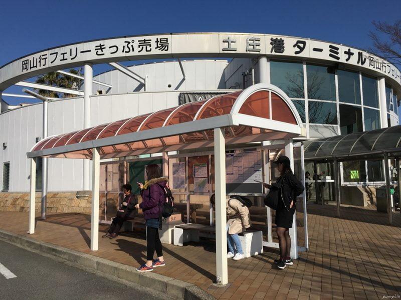 土庄港巴士站