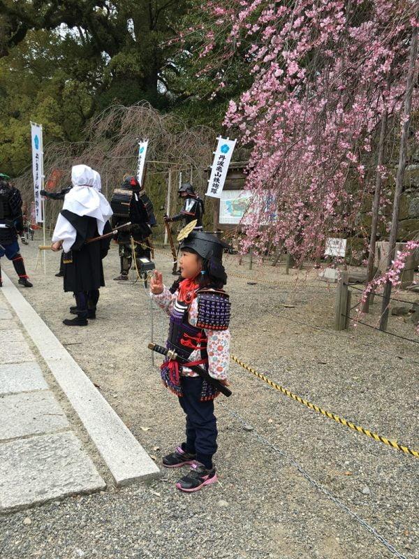 和歌山城孫市祭的小將軍