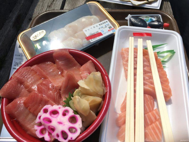 和歌山黑潮市場的魚生