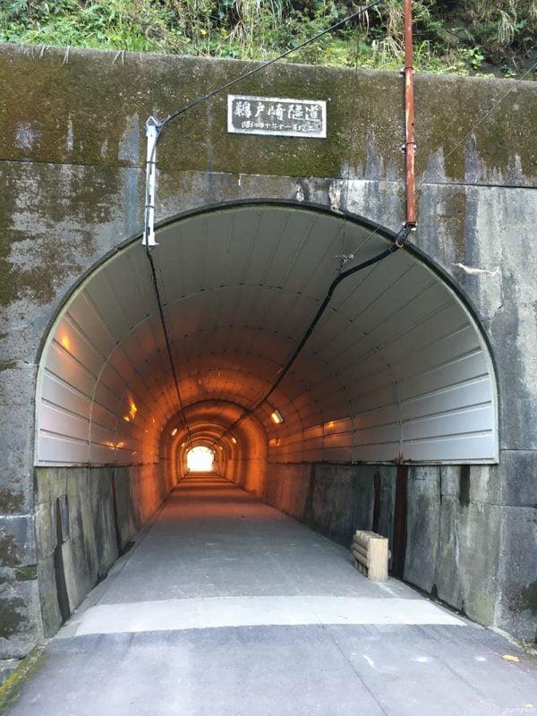 可往鵜戶神宮的隧道