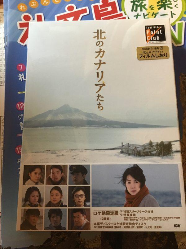 北方的金絲雀DVD