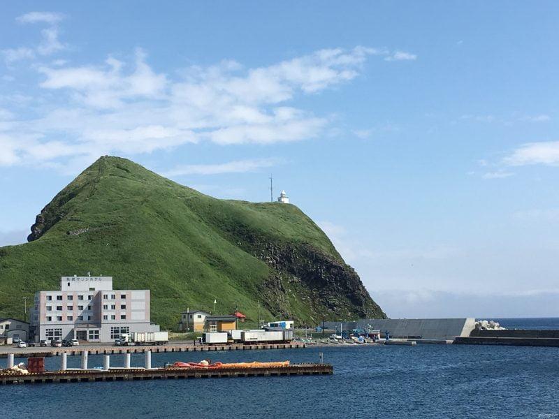 利尻島 - 鴛泊港