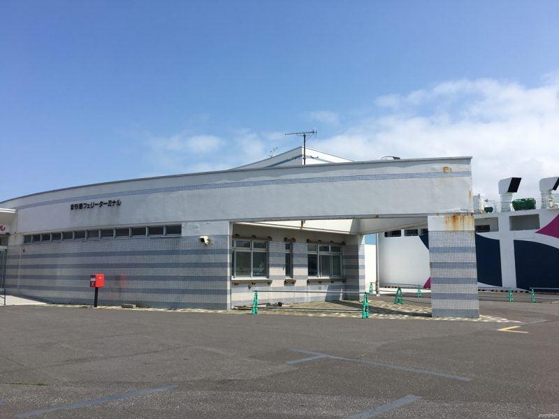 利尻島沓形港