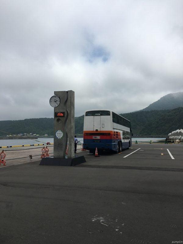 利尻觀光巴士上車處