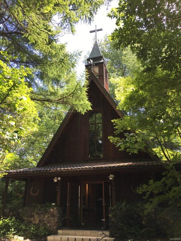 輕井澤高原教堂
