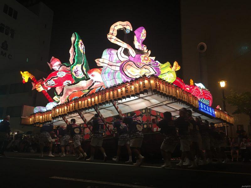 青森睡魔祭 - 主角燈籠車