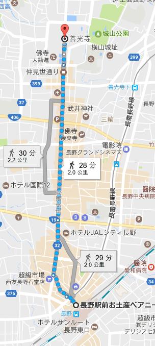 長野站住善光寺