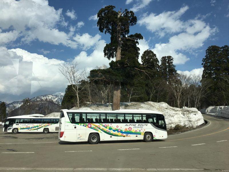 立山高原巴士
