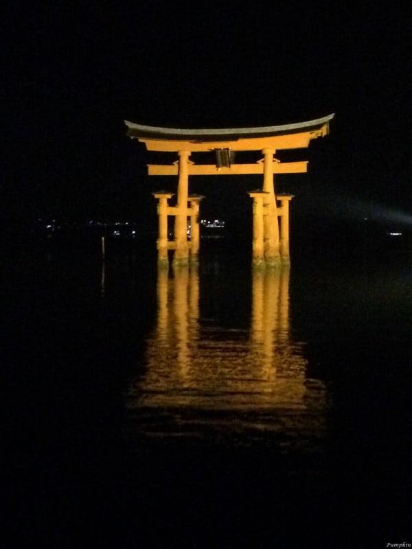 日本宮島大鳥居