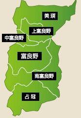 北海道富良野花田地圖