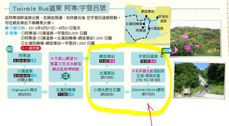 道東交通twinkle bus 網走_知床