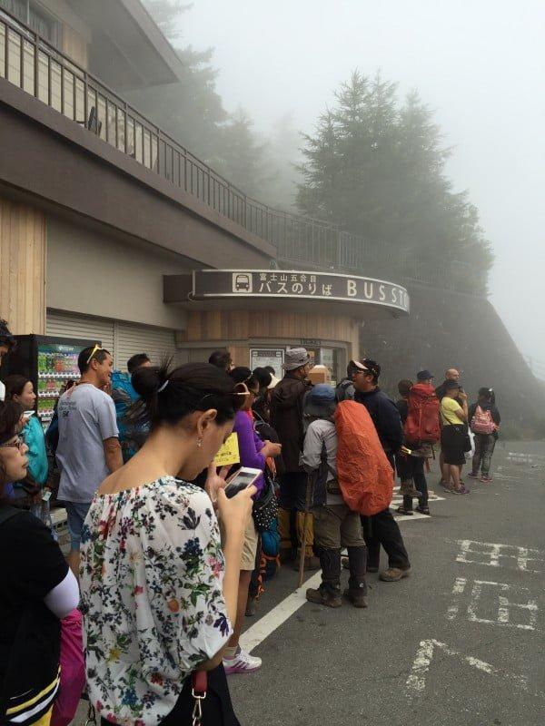 富士山五合目巴士站