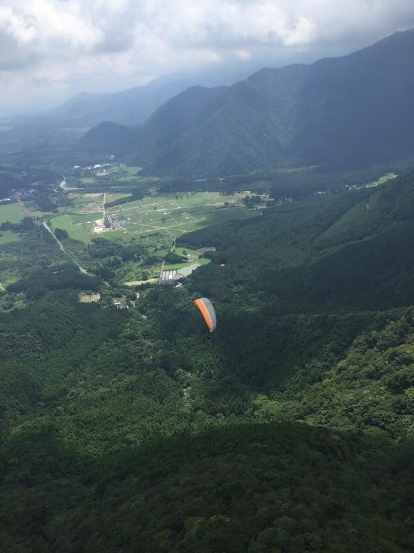 朝霧高原滑翔傘