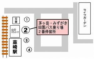 韮崎站巴士