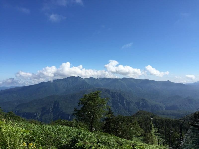 層雲峽的七合目景