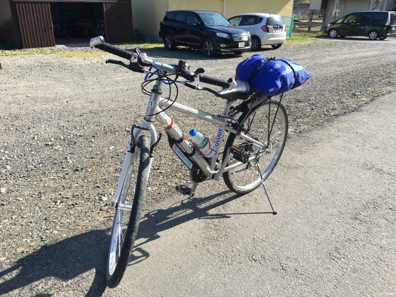 江川崎租的單車