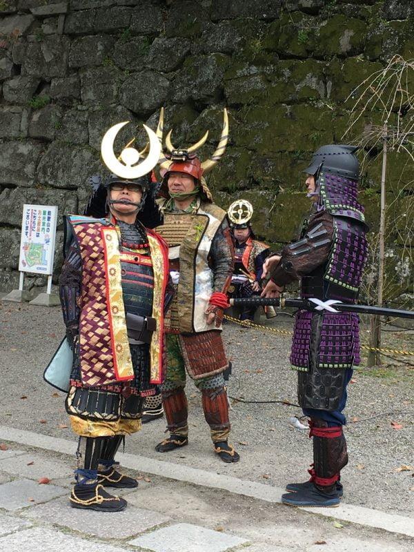 和歌山城孫市祭的將軍