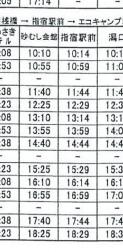 指宿砂樂會館巴士時刻表2