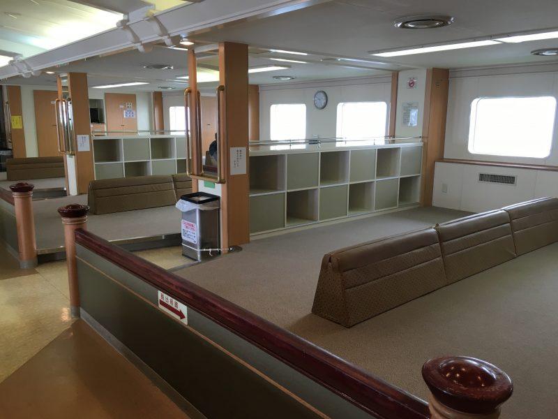 這是二等倉的和式坐位