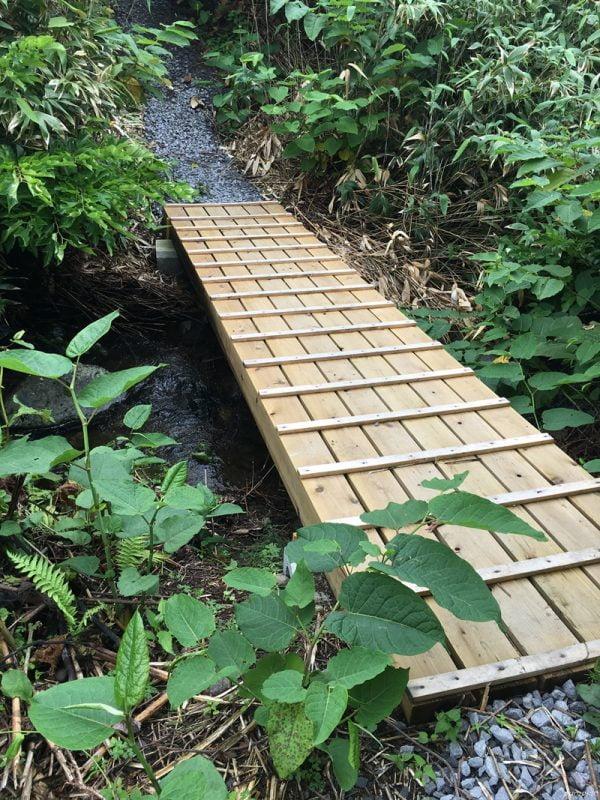 往北のカナリアパークオープン的小橋