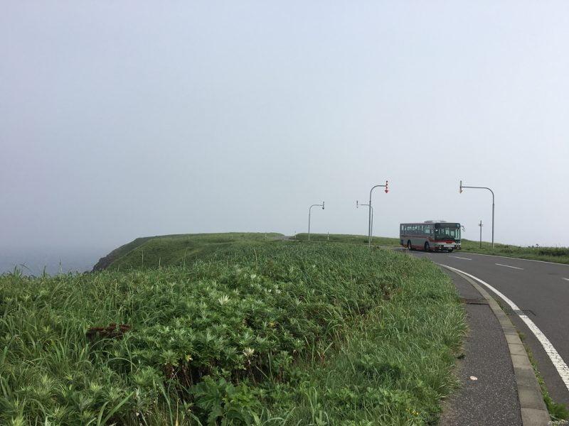 走向禮文島最北端