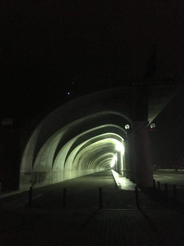 晚上的北防波堤