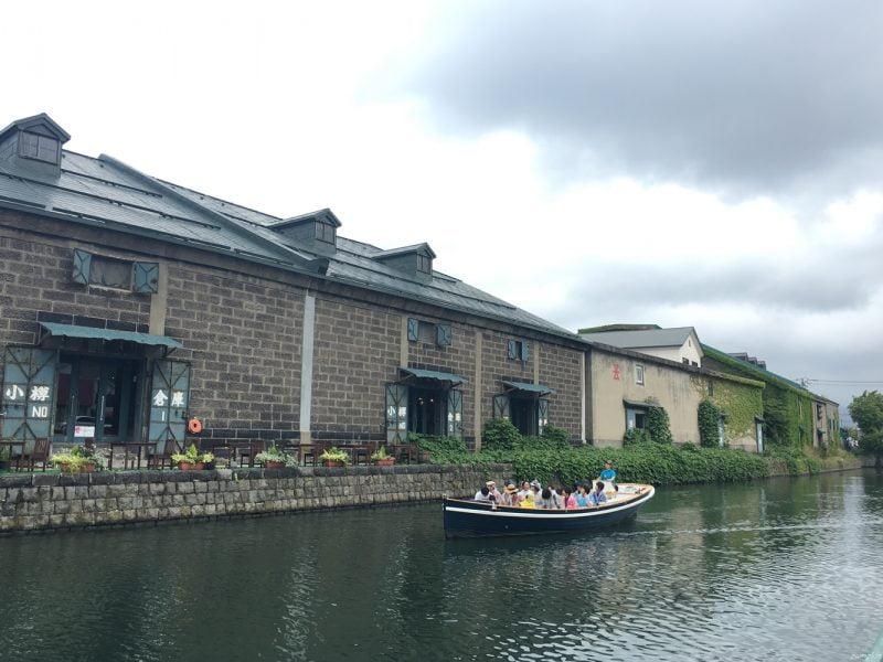 著名小樽運河