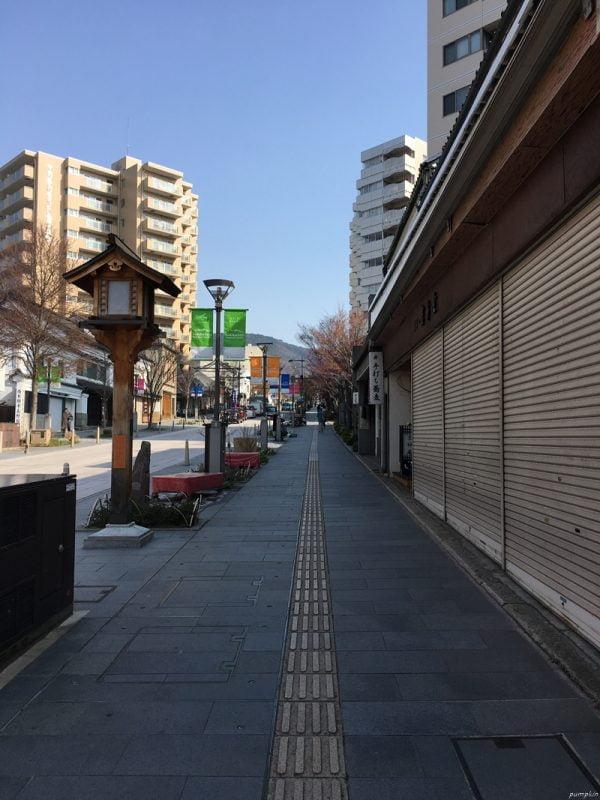 長野站往善光寺的大道