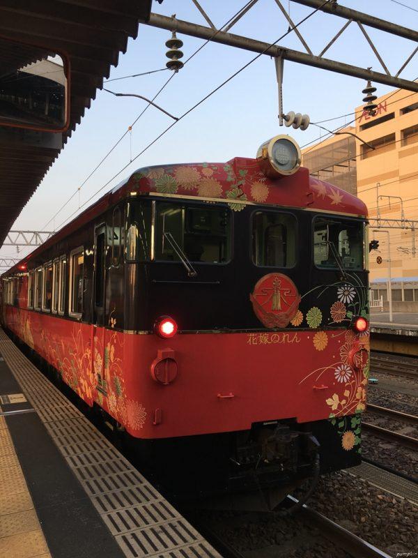 和倉花嫁列車